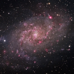 M33 LRHaGB L=6Hrs  Ha=2.5Hrs  RGB= 1Hrs each