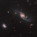 NGC3718/NGC3729/ARP322  LRGB  L=4Hrs  R=2Hrs  G=2Hrs  B=2Hrs  Scope TMB 130mm CCD Apogee U8300