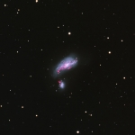 NGC4490  LHaRGB Image L=160min  Ha=80min  RGB= 60min each  Scope TMB 130mm CCD Apogee U8300