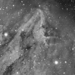 Pelican Nebula IC5070  Ha 180 min