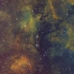 NGC6914 Ha OIII SII