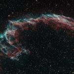 Eastern Vail RGB Stars Ha OIII BiColor Ha 340min  OIII 260min