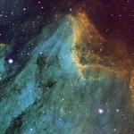 IC5070 Pelican Nebula Ha OIII SII  Ha=4.5hrs  OIII=4hrs  SII=4hrs