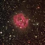 IC5146 Cocoon Nebula HaRGB  Ha =120min R =60min each  G=60min  B=60min