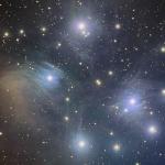 M45 Pleiades  RGB  R=1Hr G=1Hr B=2.5Hrs