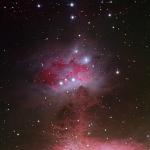 NGC1977 Running Man Nebula  HaRGB