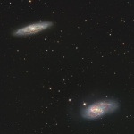 M65 and M66 Galaxys