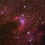 C9-sh2-155_Cave Nebula Ha6.5Hrs R1Hr G1.5Hrs B4.5Hrs