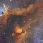 IC1848 Heart of the Soul Nebula